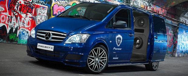 Project-X: Tuning de peste 30.000 euro pentru un Mercedes Vito