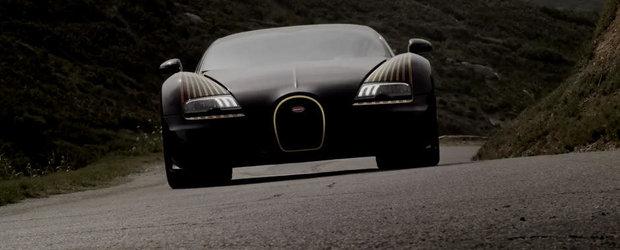 Promo superb pentru exclusivistul Bugatti Legend Black Bess