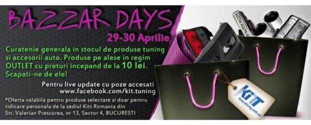 Promotia inceputului de vara la KITT Romania: primul OUTLET cu piese tuning