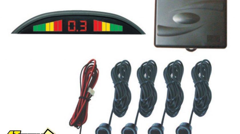 PROMOTIE 99 LEI Senzori de parcare Sistem de asistenta parcare cu 4 senzori si afisaj cu led uri