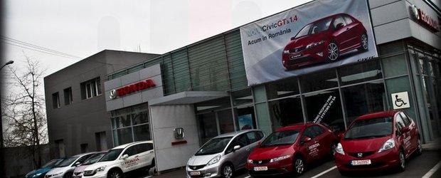 Promotii speciale la Honda in luna aprilie