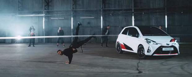 Promovare inedita facuta de Toyota. Noul Yaris GRMN isi tureaza motorul in...pasi de dans