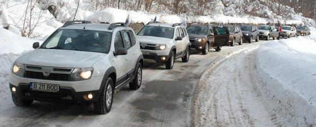 Proprietarii de Dacia Duster si-au dat intalnire la Bucegi