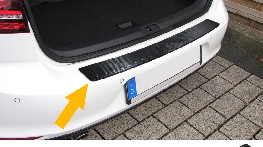 Protectie bara portbagaj Opel Astra J Combi dupa 2010- Carbon