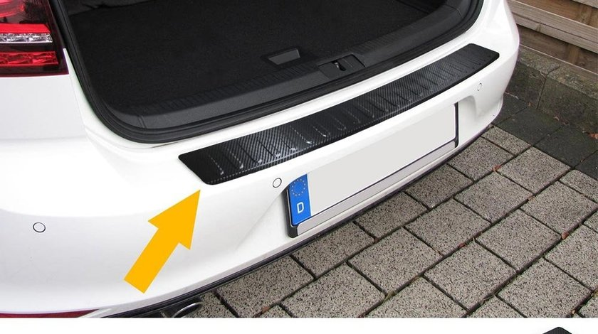 Protectie bara portbagaj VW Passat B8 Sedan(Limo) dupa 2014- carbon