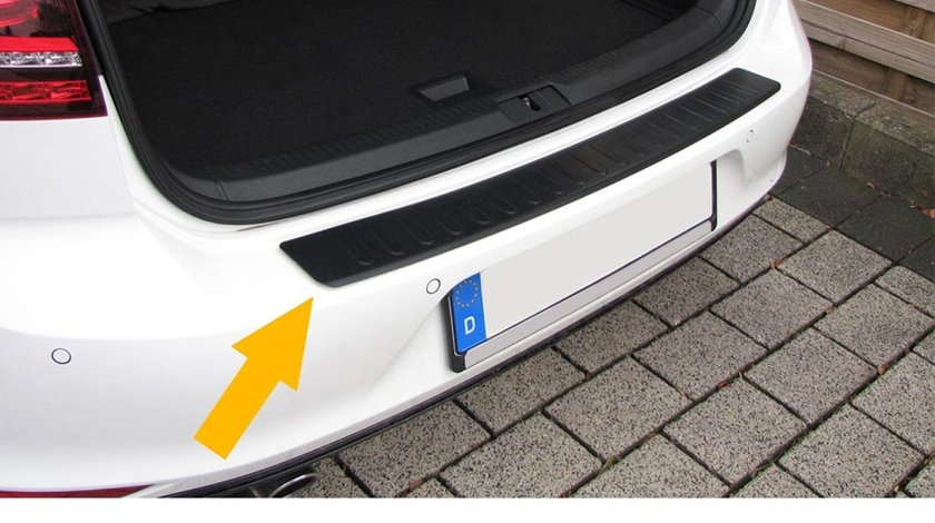 Protectie bara portbagaj VW Transporter T5 2003-2009 negru