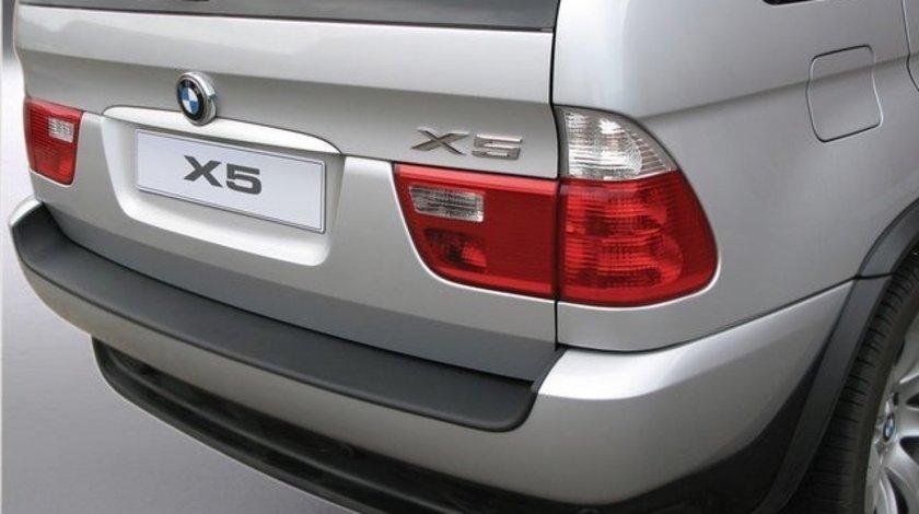 Protectie bara spate BMW E53 X5 2001-2006 ALUMINIU PERIAT RGM AutoLux