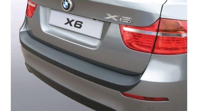 Protectie bara spate BMW E71 X6 2008-2012 NEGRU MAT RGM AutoLux