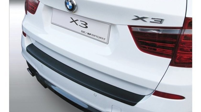 Protectie bara spate BMW F25 X3  'M' SPORT/SE 2010-2014 NEGRU MAT RGM AutoLux