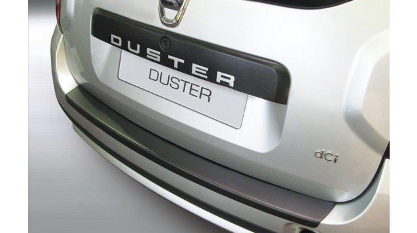 Protectie bara spate DACIA DUSTER Dupa 2010 NEGRU MAT RGM AutoLux