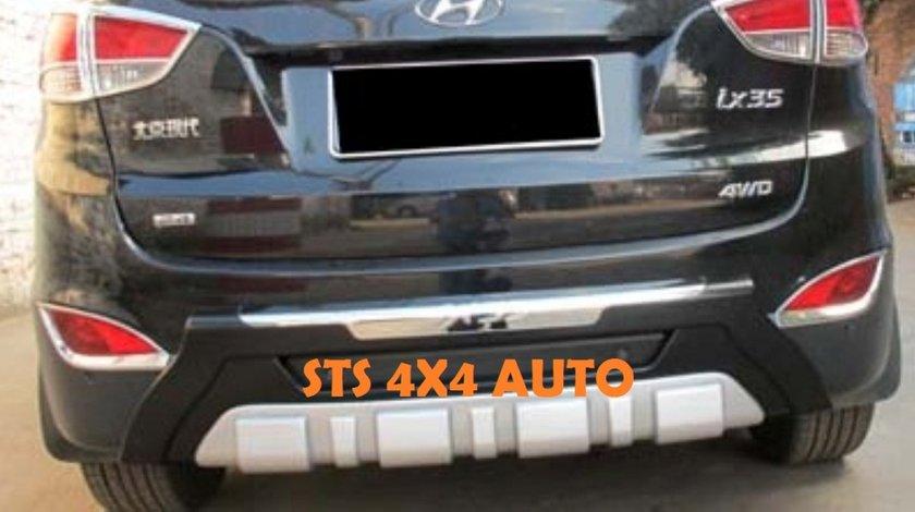 PROTECTIE BARA SPATE DIN ABS HYUNDAI IX35 2010-2014 [TYPE-B]