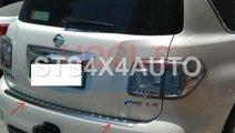 PROTECTIE BARA SPATE DIN INOX NISSAN PATROL Y62 20...