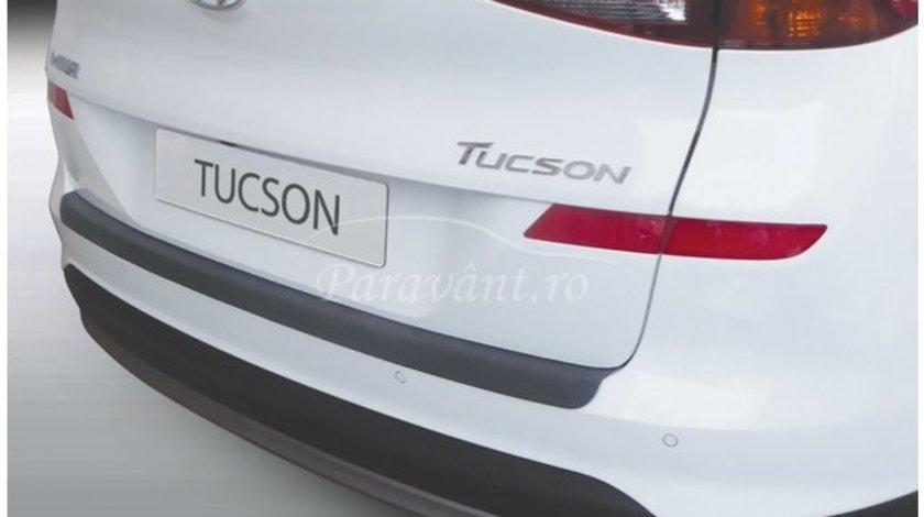 Protectie bara spate HYUNDAI TUCSON, 5 usi, Dupa 2018 AutoLux