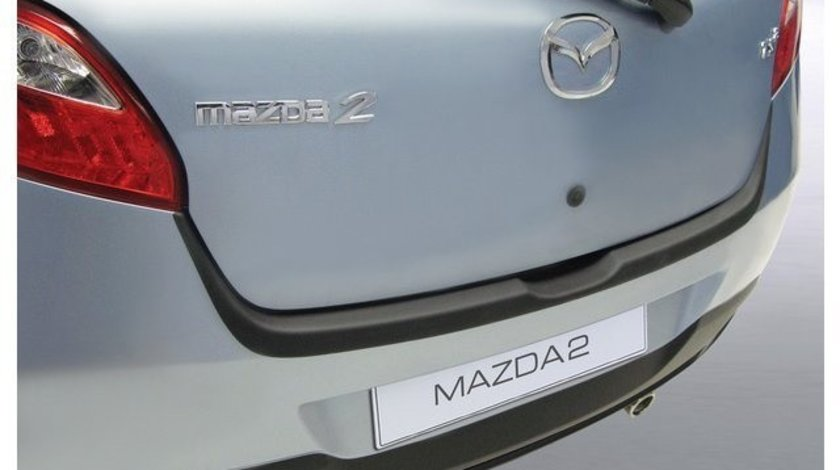 Protectie bara spate Mazda 2 2007-2015 ALUMINIU PERIAT RGM AutoLux