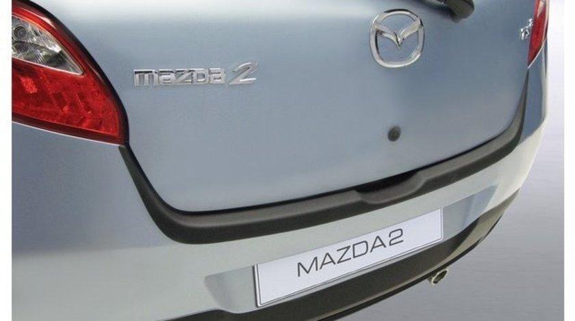 Protectie bara spate Mazda 2 2007-2015 NEGRU MAT RGM AutoLux