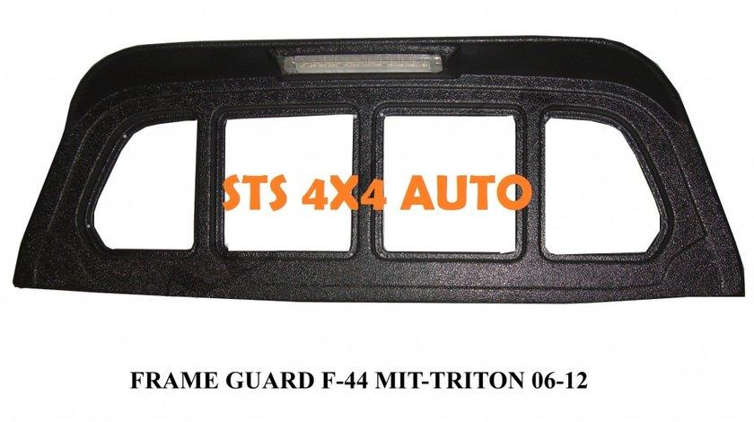 PROTECTIE GRILA SPATE MITSUBISHI L200 TRITON 2006-2012 CU LED