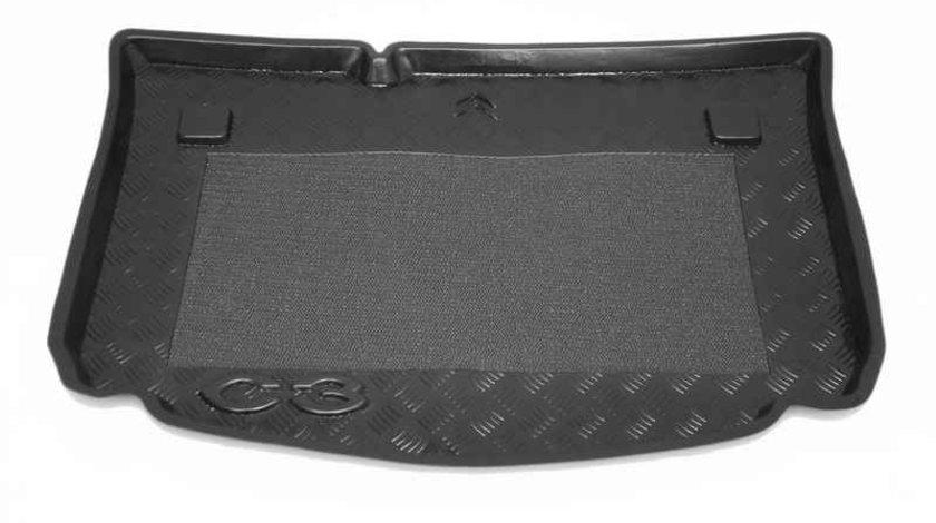 Protectie portbagaj Citroen C3 Hatchback 2002-2005 cu protectie antiderapanta Kft Auto