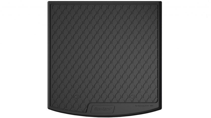 Protectie portbagaj Seat Leon ST 5F, 2013 -> prezent, podea inaltata variabila, din cauciuc Rubbasol, marca Gledring