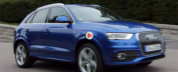 Prototip Audi Q3 RS: primele imagini cu un Q3 in varianta RS de 300 cp