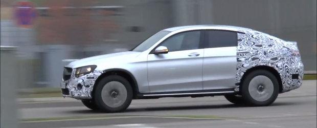 Prototipul noului GLC Coupe ne arata la ce sa ne asteptam de la rivalul BMW-ului X4