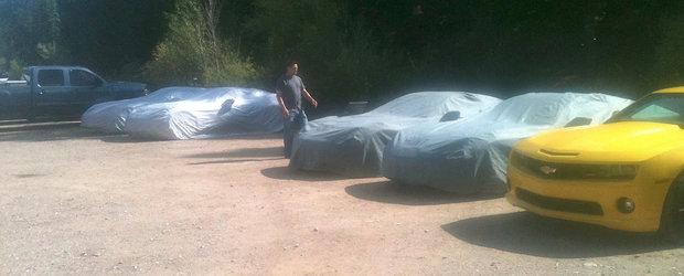 Prototipuri de Corvette C7 2014, surprinse in imagini si un film