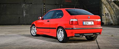 Prototipuri uitate: BMW a construit in anii '90 un M3 E36 Compact cu 321 de cai putere sub capota