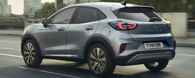 Puma Titanium X: noul SUV Ford fabricat la Craiova primeste jante pe 18 si insertii interioare din lemn