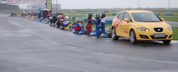 Punct final in Cupa FRAS-Dunlop la karting