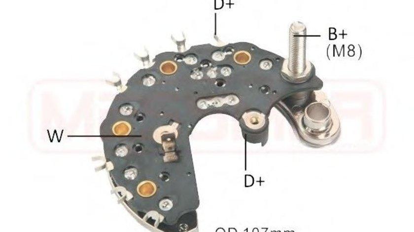Punte diode MERCEDES G-CLASS Cabrio (W463) (1989 - 2016) ERA 215760 piesa NOUA