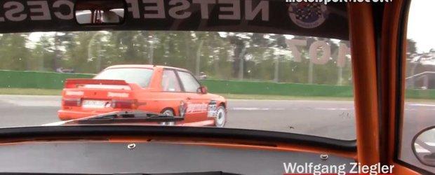 Puterea nu e totul - Trabant vs. BMW M3 E30 pe circuit