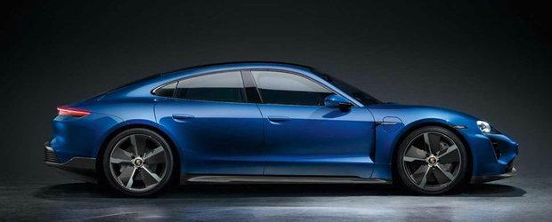 Putine masini electrice arata la fel de bine. Porsche Taycan Turbo primeste un nou pachet de imbunatatiri