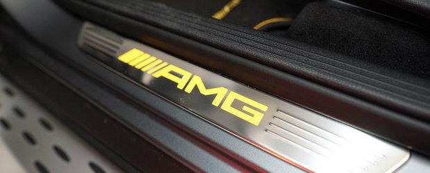Putine masini stau langa acest Mercedes-AMG GLC 63 S Coupe tunat de Manhart. Acum are 700 CP sub capota