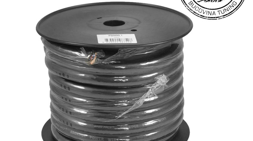 PWN00.1 15m Roll OFC 00AWG 53mm+ Black Negative Cable 5929 Strand