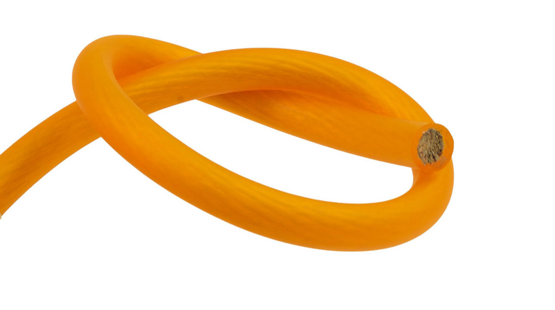 PWP4.1 30m Roll CCA 4AWG 21mm Orange Power Cable 1862 Strand