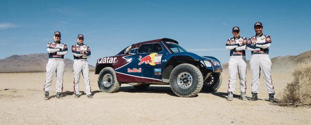 Qatar Red Bull Rally Team pregatita pentru Raliul Dakar