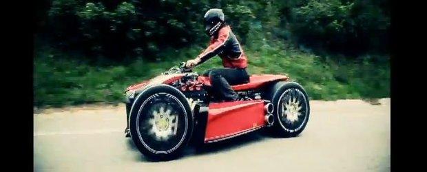Quad cu motor de Ferrari - Lazareth Wazuma, doar 200.000 de Euro