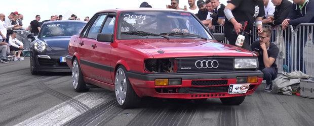 Quattro, peste 800 de cai si 900 Nm cuplu. Asta-i tot ce trebuie sa stii despre acest Audi 90