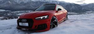 """Quattro power"" de sezon. Urmareste cel mai nou Audi RS5 la o joaca prin zapada"