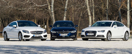 Quattro, xDrive sau 4Matic: ce sistem de tractiune integrala premium se descurca pe zapada?