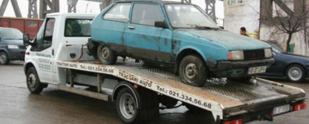 Rabla 2012: Guvernul vrea sa caseze 30.000 de masini
