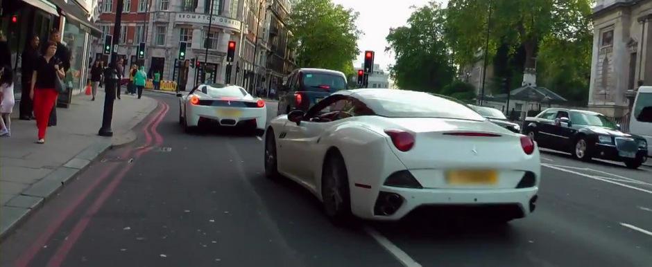 Racerii arabi iau cu asalt Londra - filmul complet!