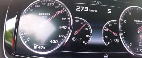 Racheta, frate! Noua limuzina de la Brabus accelereaza pana la 340 km/h mai ceva ca o masina sport