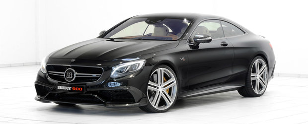 Racheta, frate! Noul Brabus Rocket 900 Coupe are 900 CP si atinge 350 km/h!