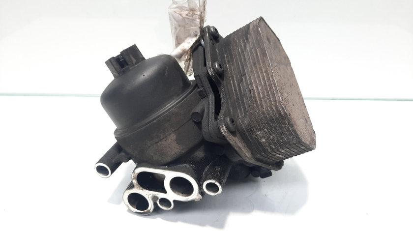 Racitor ulei cu carcasa filtru ulei, cod 6C1Q-6B624-AC, Ford Transit Platforma, 2.2 TDCI, DRFA
