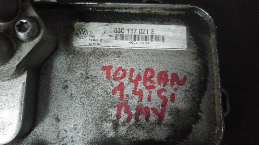 Racitor ulei termoflot vw touran 1t1 1t2 1.4 fsi bmy 140 cp 2006-2010 03c117021e