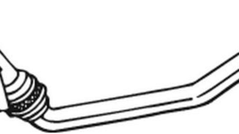 Racord evacuare AUDI A4 (8EC, B7) (2004 - 2008) BOSAL 800-055 piesa NOUA