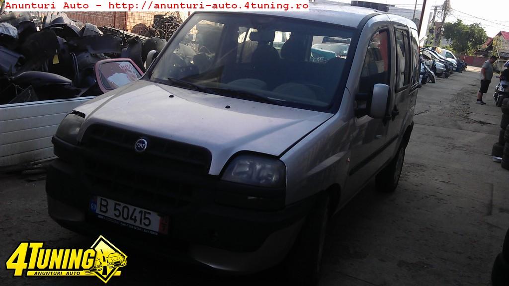 Radiator apa Fiat Doblo an 2005 motor diesel 1 3 d multijet 55 kw 75 cp tip motor 199 A2 000 dezmembrari Fiat Doblo an 2005