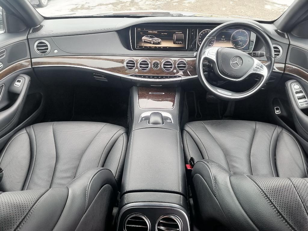 Radiator apa Mercedes S-Class W222 2014 berlina 3.0