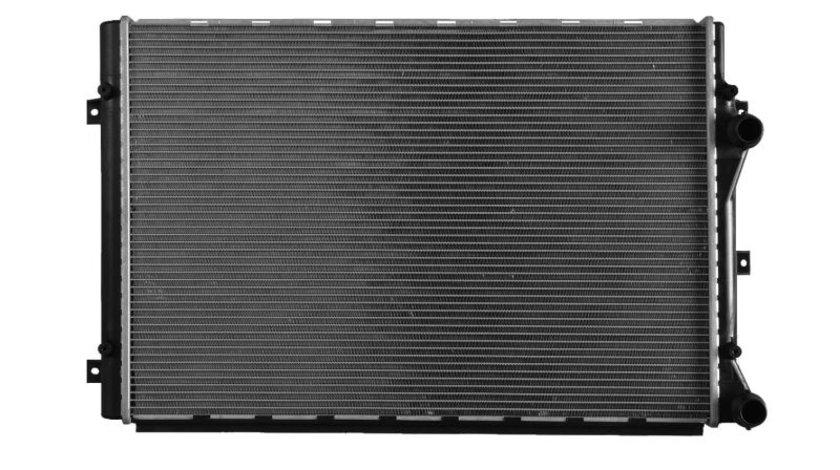 Radiator apa racire motor AUDI A3, TT; SEAT ALTEA XL, LEON; SKODA OCTAVIA II, SUPERB II, YETI; VW BEETLE, CADDY III, CC, EOS, GOLF PLUS, GOLF V, GOLF VI, JETTA III 1.4-2.0 dupa 2003 cod intern: 53816RRY