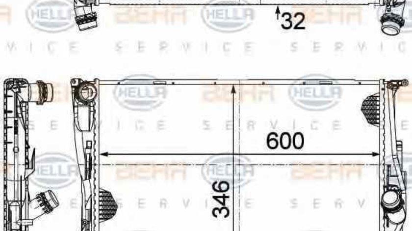 Radiator apa racire motor BMW X1 (E84) HELLA 8MK 376 754-004
